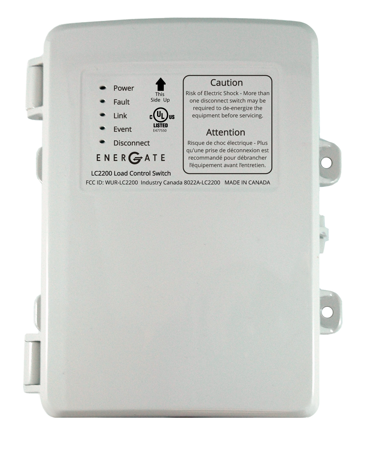 Energate to Supply ZigBee Load Switches For Home Energy Management ...
